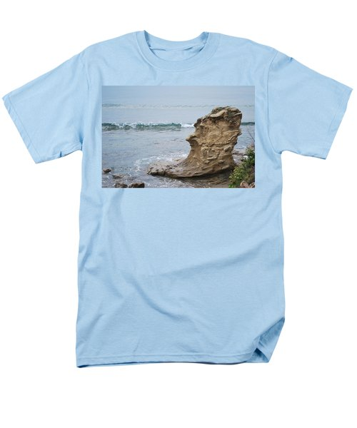 Turquoise Sea Men's T-Shirt  (Regular Fit) by George Katechis