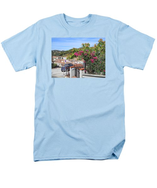 Men's T-Shirt  (Regular Fit) featuring the photograph Tuscany Hills by Ramona Matei