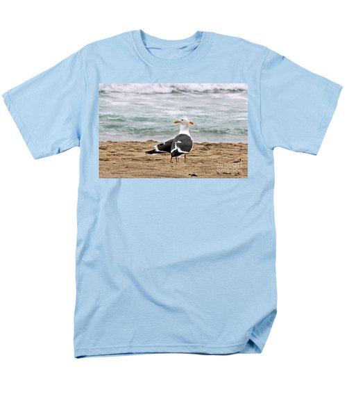 Twin Beaks Men's T-Shirt  (Regular Fit) by Susan Wiedmann