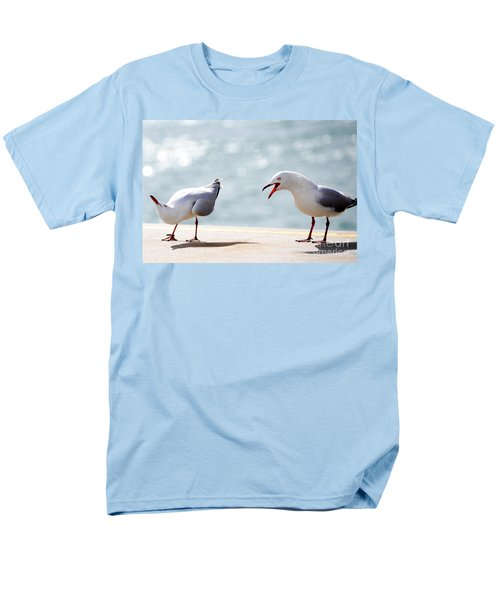 Two Seagulls Men's T-Shirt  (Regular Fit) by Yew Kwang