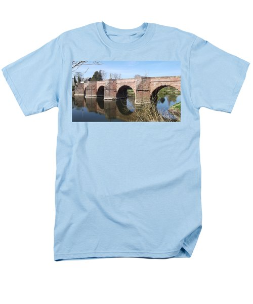 Men's T-Shirt  (Regular Fit) featuring the photograph Under The Arches by Tracey Williams