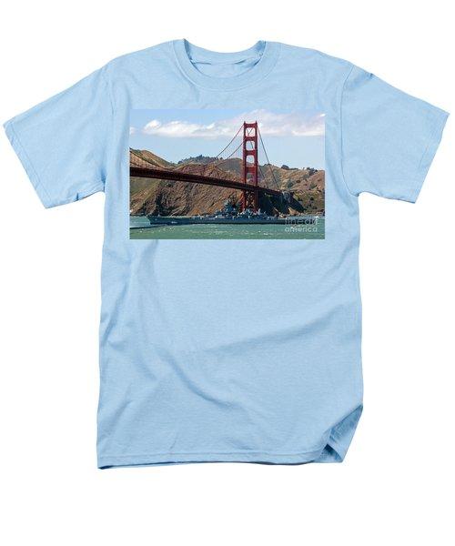 U.s.s. Iowa Up Close Men's T-Shirt  (Regular Fit) by Kate Brown