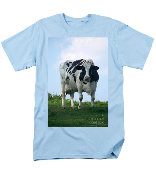 Vermont Dairy Cow Men's T-Shirt  (Regular Fit) by Eunice Miller