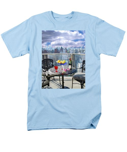 View From The Terrace Men's T-Shirt  (Regular Fit) by Madeline Ellis