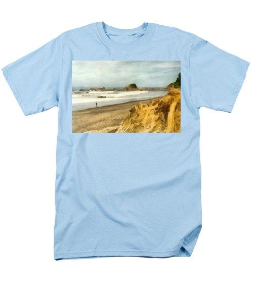 Washington State Seastacks Men's T-Shirt  (Regular Fit) by Michelle Calkins