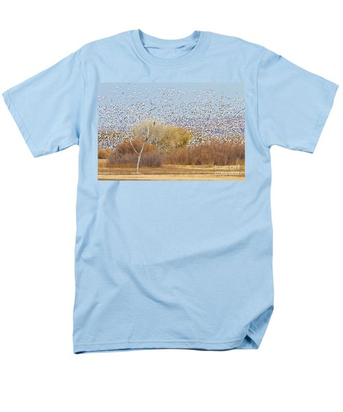 Men's T-Shirt  (Regular Fit) featuring the photograph Watching Over The Flock by Bryan Keil