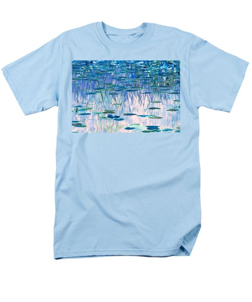 Men's T-Shirt  (Regular Fit) featuring the photograph Water Lilies by Chris Anderson