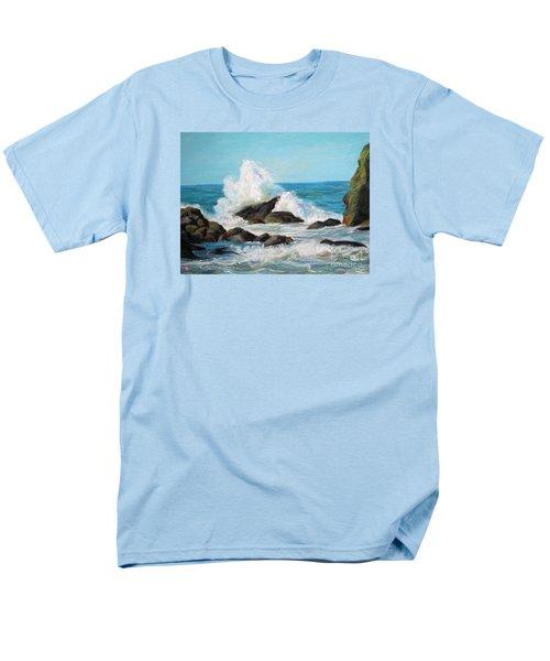 Wave Men's T-Shirt  (Regular Fit)