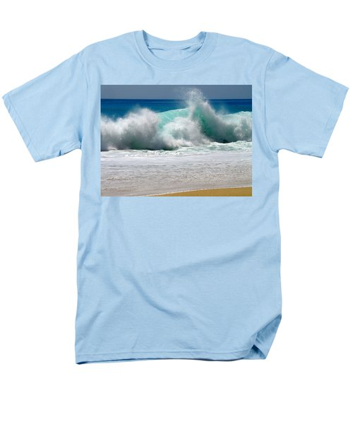 Wave Men's T-Shirt  (Regular Fit) by Karon Melillo DeVega