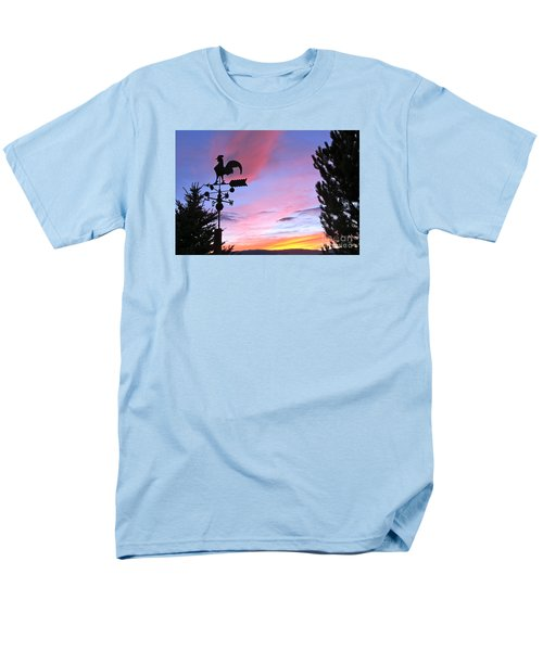 Weather Vane Sunset Men's T-Shirt  (Regular Fit) by Phyllis Kaltenbach