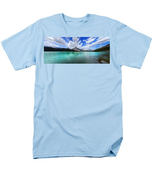 Men's T-Shirt  (Regular Fit) featuring the photograph White Pyramid by David Andersen