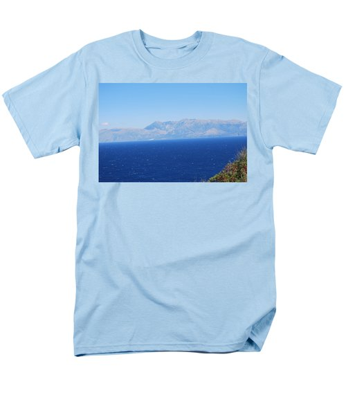 Men's T-Shirt  (Regular Fit) featuring the photograph White Trail by George Katechis