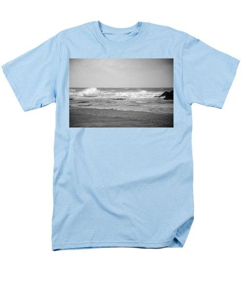Wind Blown Waves Tofino Men's T-Shirt  (Regular Fit) by Roxy Hurtubise