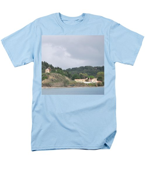 Windmill Built 1830 Men's T-Shirt  (Regular Fit) by George Katechis