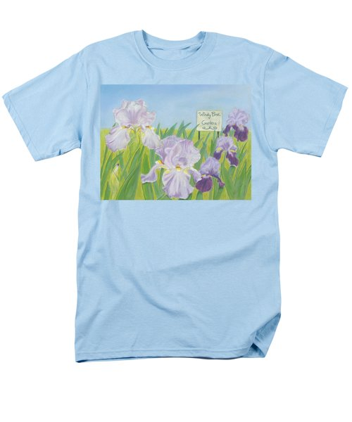 Men's T-Shirt  (Regular Fit) featuring the painting Windy Brae Gardens by Arlene Crafton