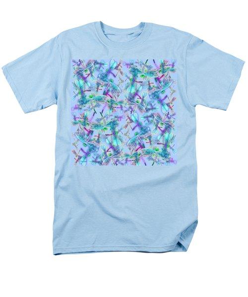 Wings On Blue Duvet Cover Men's T-Shirt  (Regular Fit)