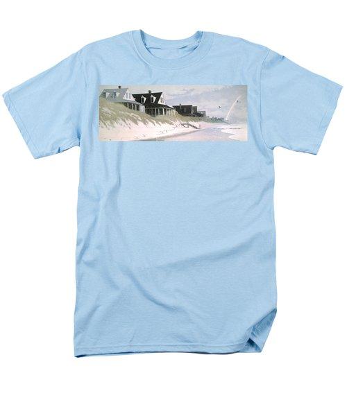 Winter Beach Men's T-Shirt  (Regular Fit) by Blue Sky