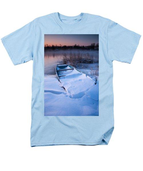 Men's T-Shirt  (Regular Fit) featuring the photograph Winter Dawn by Davorin Mance