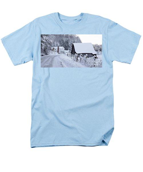 Winter In Virginia Men's T-Shirt  (Regular Fit) by Benanne Stiens