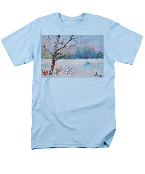Winter Loneliness Men's T-Shirt  (Regular Fit)