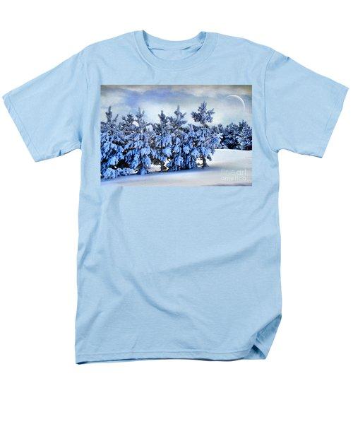 Winter Serenity  Men's T-Shirt  (Regular Fit) by Andrea Kollo