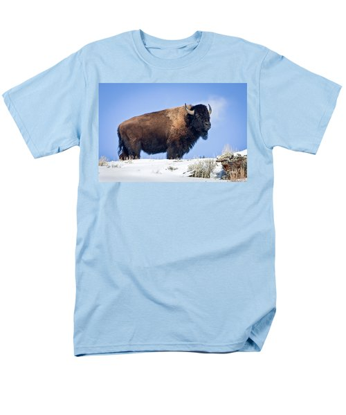 Men's T-Shirt  (Regular Fit) featuring the photograph Winter Warrior by Jack Bell