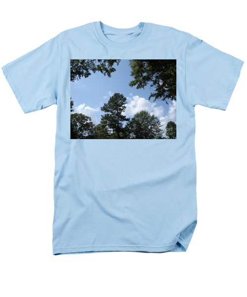 Wooded Forest  Men's T-Shirt  (Regular Fit) by Joseph Baril
