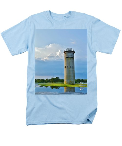 World War II Lookout Tower - Tower Road - Delaware State Park Men's T-Shirt  (Regular Fit)