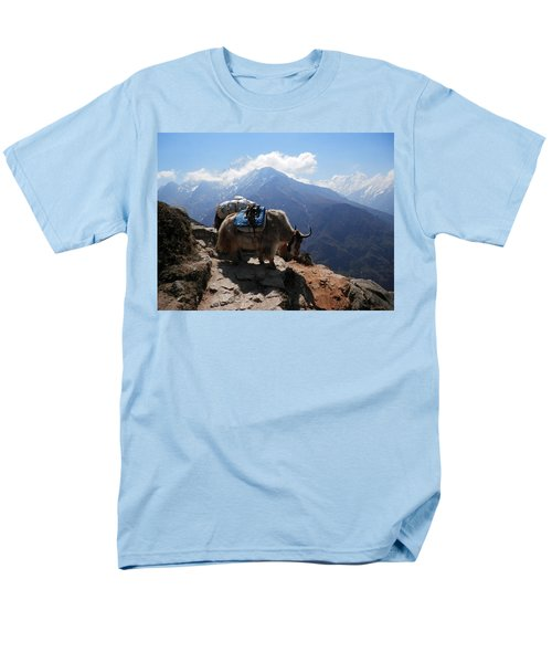 Yaks 1a Men's T-Shirt  (Regular Fit) by Pema Hou