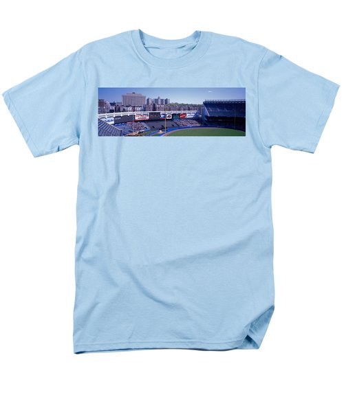 Yankee Stadium Ny Usa Men's T-Shirt  (Regular Fit) by Panoramic Images