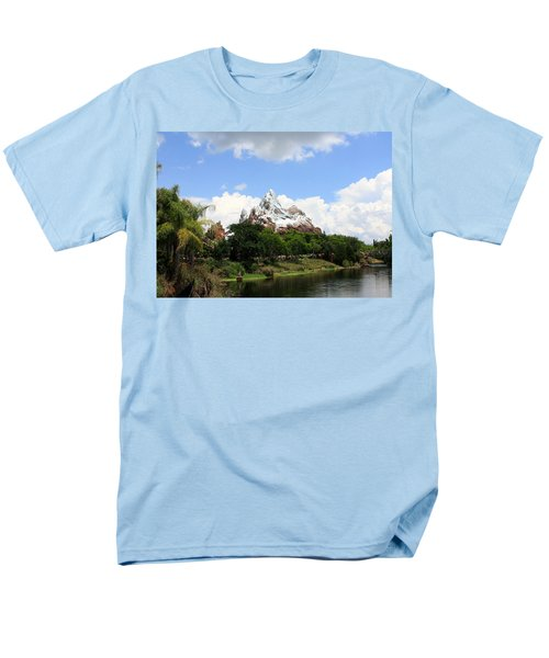 Men's T-Shirt  (Regular Fit) featuring the photograph Yeti Country by David Nicholls