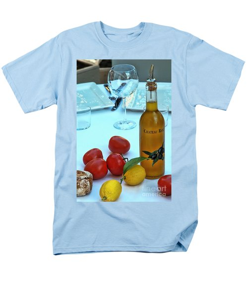 Men's T-Shirt  (Regular Fit) featuring the photograph Your Table Is Ready by Allen Beatty