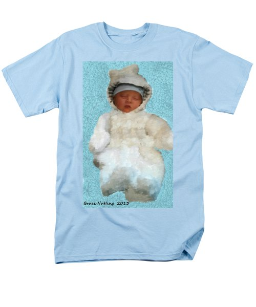 Men's T-Shirt  (Regular Fit) featuring the painting Zachary by Bruce Nutting