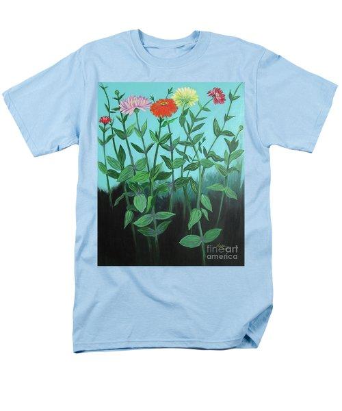 Zinnia Parade Men's T-Shirt  (Regular Fit)