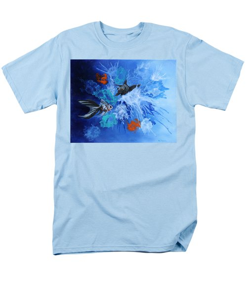 Richies Fish Men's T-Shirt  (Regular Fit) by Wendy Shoults