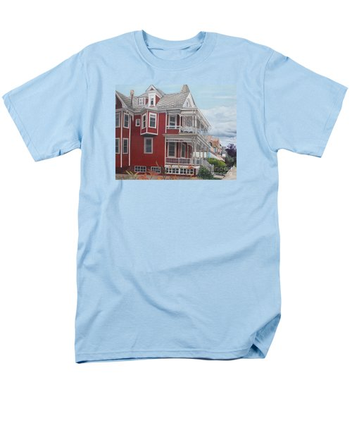 Victorian Afternoon Cape May Men's T-Shirt  (Regular Fit) by Barbara Barber