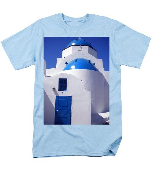 Men's T-Shirt  (Regular Fit) featuring the photograph Santorini Greece by Colette V Hera  Guggenheim