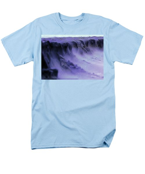Men's T-Shirt  (Regular Fit) featuring the photograph Alien Landscape The Aftermath by Blair Stuart