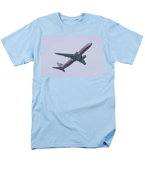 American Airlines Men's T-Shirt  (Regular Fit) by John Black