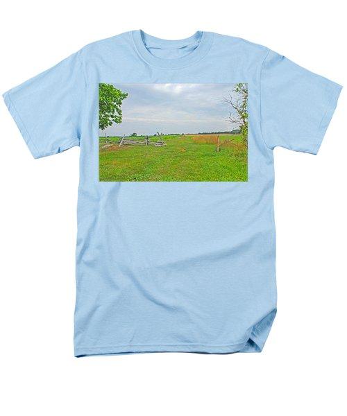 Antietam Battle Of The Cornfield Men's T-Shirt  (Regular Fit) by Cindy Manero