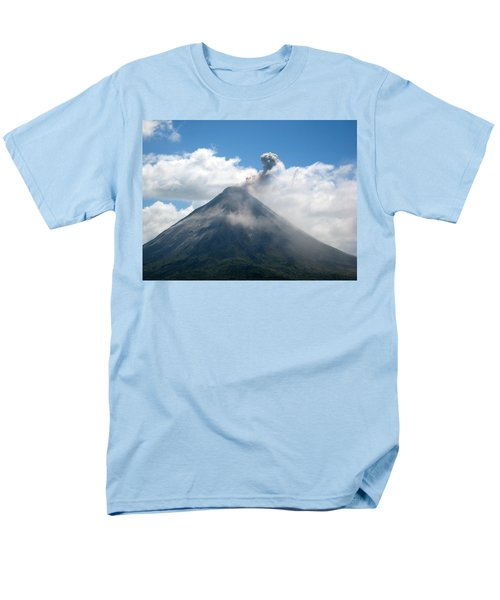 Men's T-Shirt  (Regular Fit) featuring the photograph Arenal Eruption by Eric Tressler