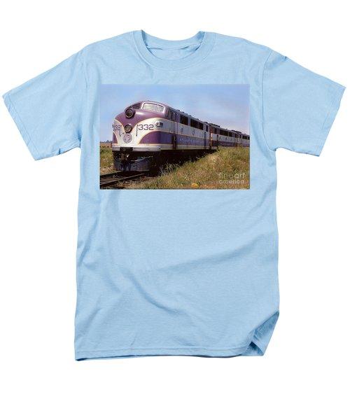 Atlantic Coast Line F2 Aba Men's T-Shirt  (Regular Fit) by John Black