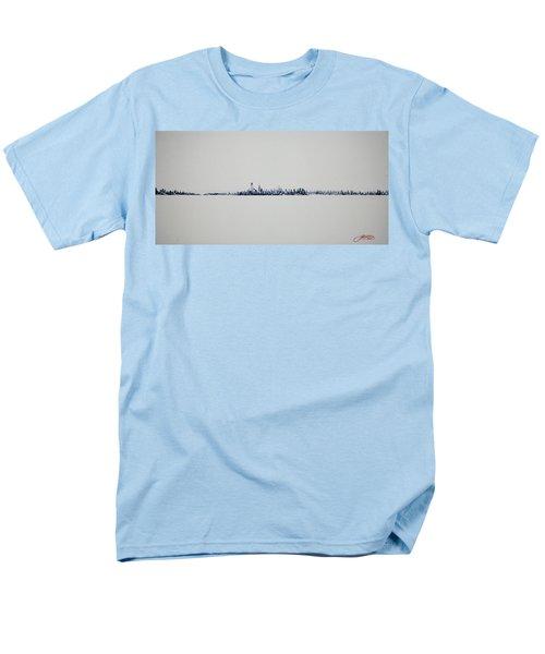 Autum Skyline Men's T-Shirt  (Regular Fit)