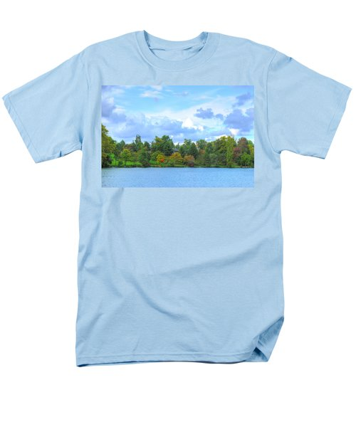 Men's T-Shirt  (Regular Fit) featuring the photograph Autumn's Beauty At Hoyt Lake by Michael Frank Jr