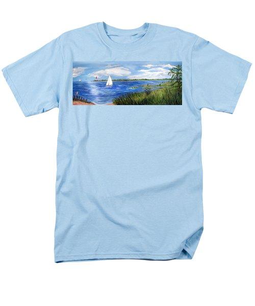 Bayville Marsh Men's T-Shirt  (Regular Fit)