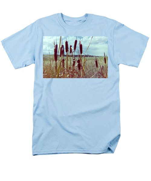 Men's T-Shirt  (Regular Fit) featuring the photograph Cat Tails by Bonfire Photography