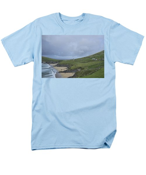 Men's T-Shirt  (Regular Fit) featuring the photograph Coastline  by Hugh Smith