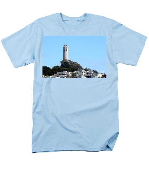 Coit Tower Men's T-Shirt  (Regular Fit) by Henrik Lehnerer