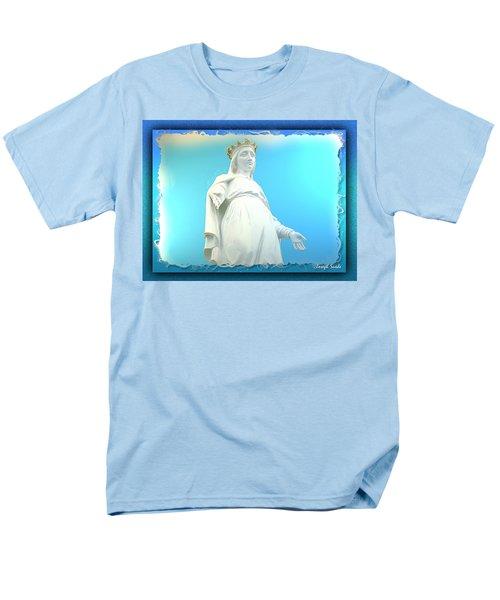 Do-00531 Our Lady Of Lebanon Men's T-Shirt  (Regular Fit) by Digital Oil