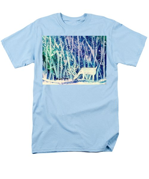 Enchanted Winter Forest Men's T-Shirt  (Regular Fit) by Shana Rowe Jackson